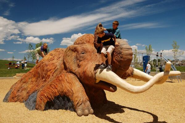 Fossil Creek Park - Theme Design - Life Size Mammoth