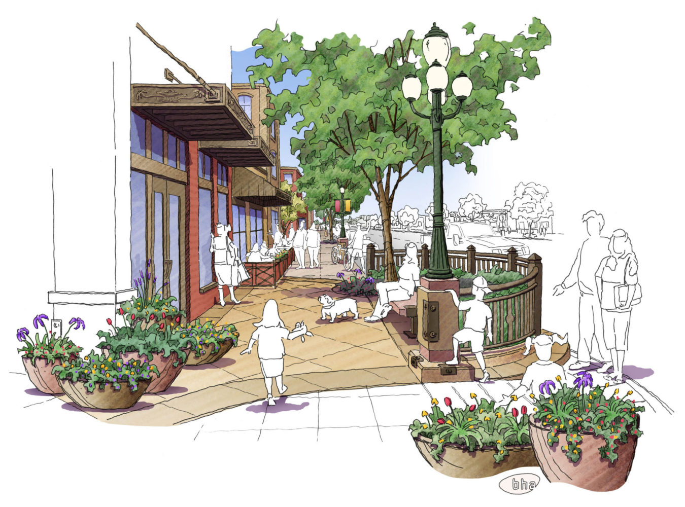 Greeley 8th Ave. Visioning - Design Concept