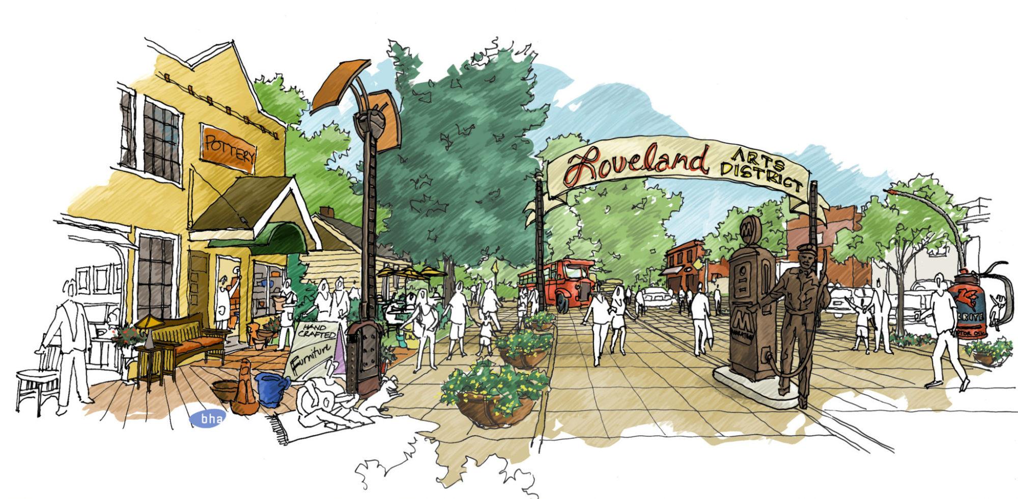 Loveland Arts District - Conceptual Design