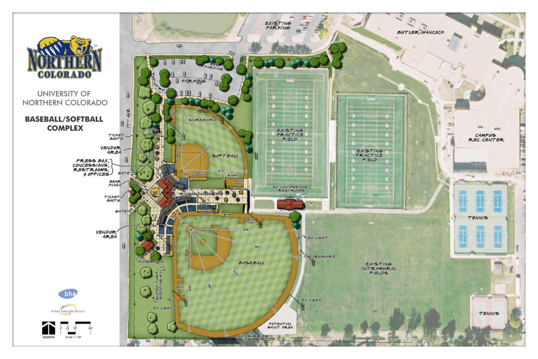 UNC Baseball / Softball Complex Master Plan