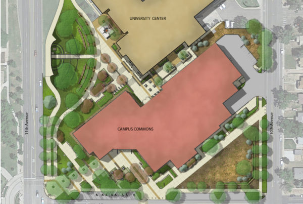 UNC Commons Plan Rendering