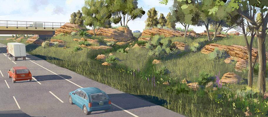 I25 and Prospect Road Interchange