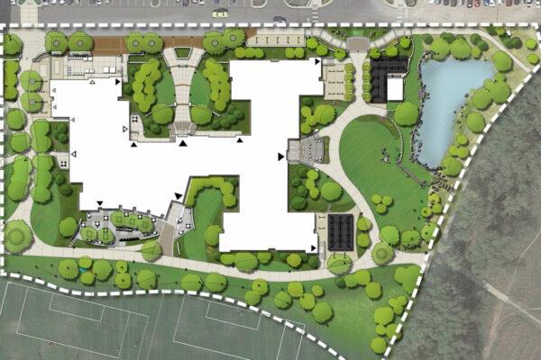 CU Williams Village East Site Plan