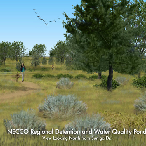 NECCO Stormwater and Water Quality Basin