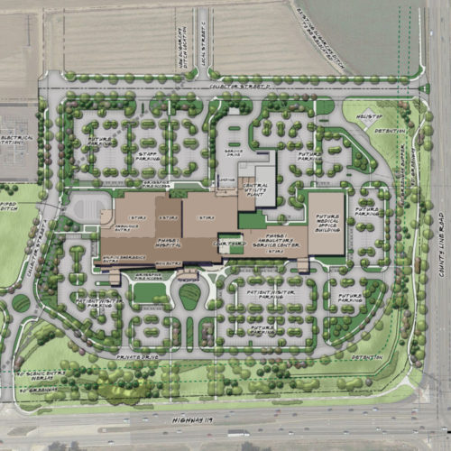 UCHealth Longs Peak Hospital - Master Plan