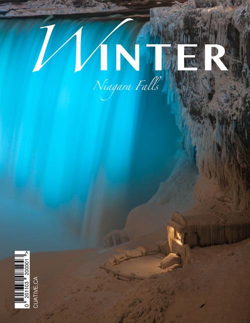 Frozen Winter Niagara Falls Mini Magazine