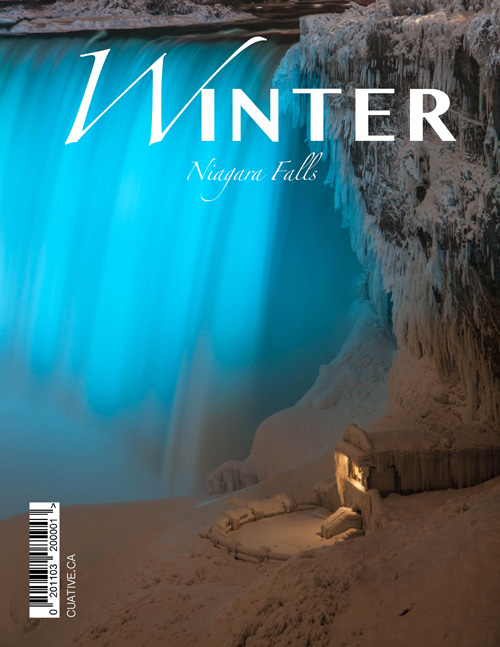 Frozen Winter Niagara Falls Mini Magazine