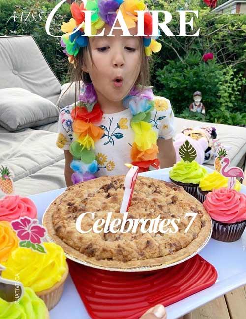 Miss Claire's Birthday