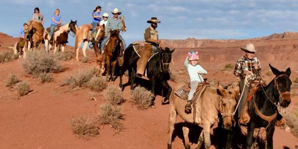 Moab Horses Trail Rides