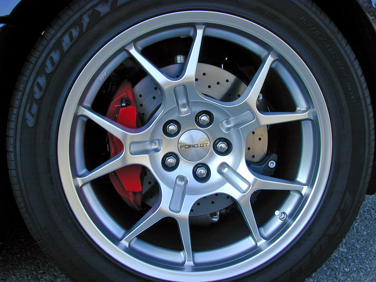 2005 Ford GT BBS Wheel