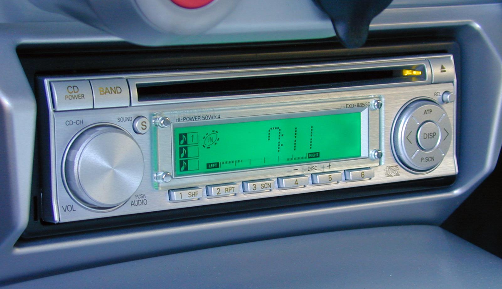 2005 Ford GT Long Term Radio