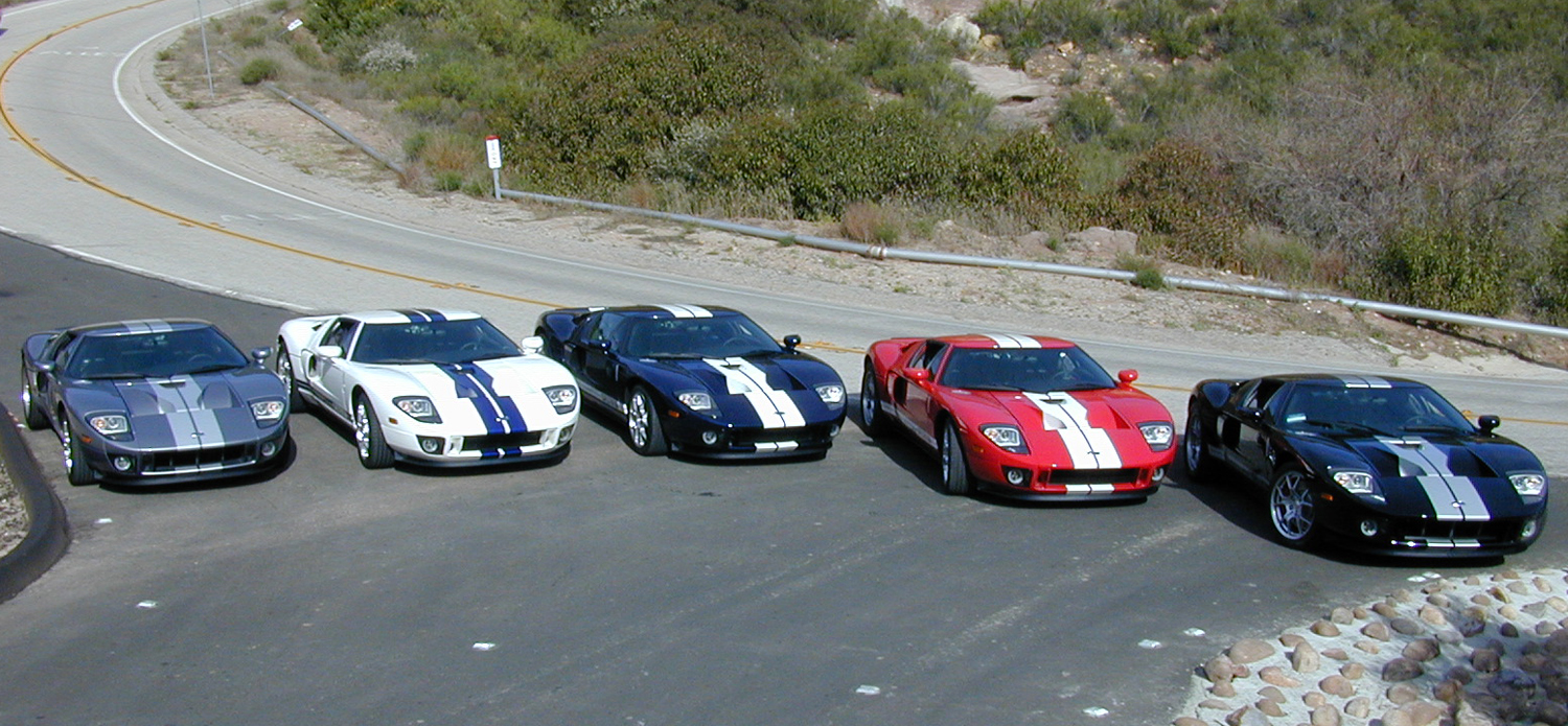 2005 Ford GTs Long Term SAAC Rally