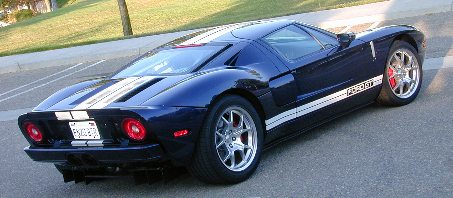 2005 Ford GT Long Term Rear