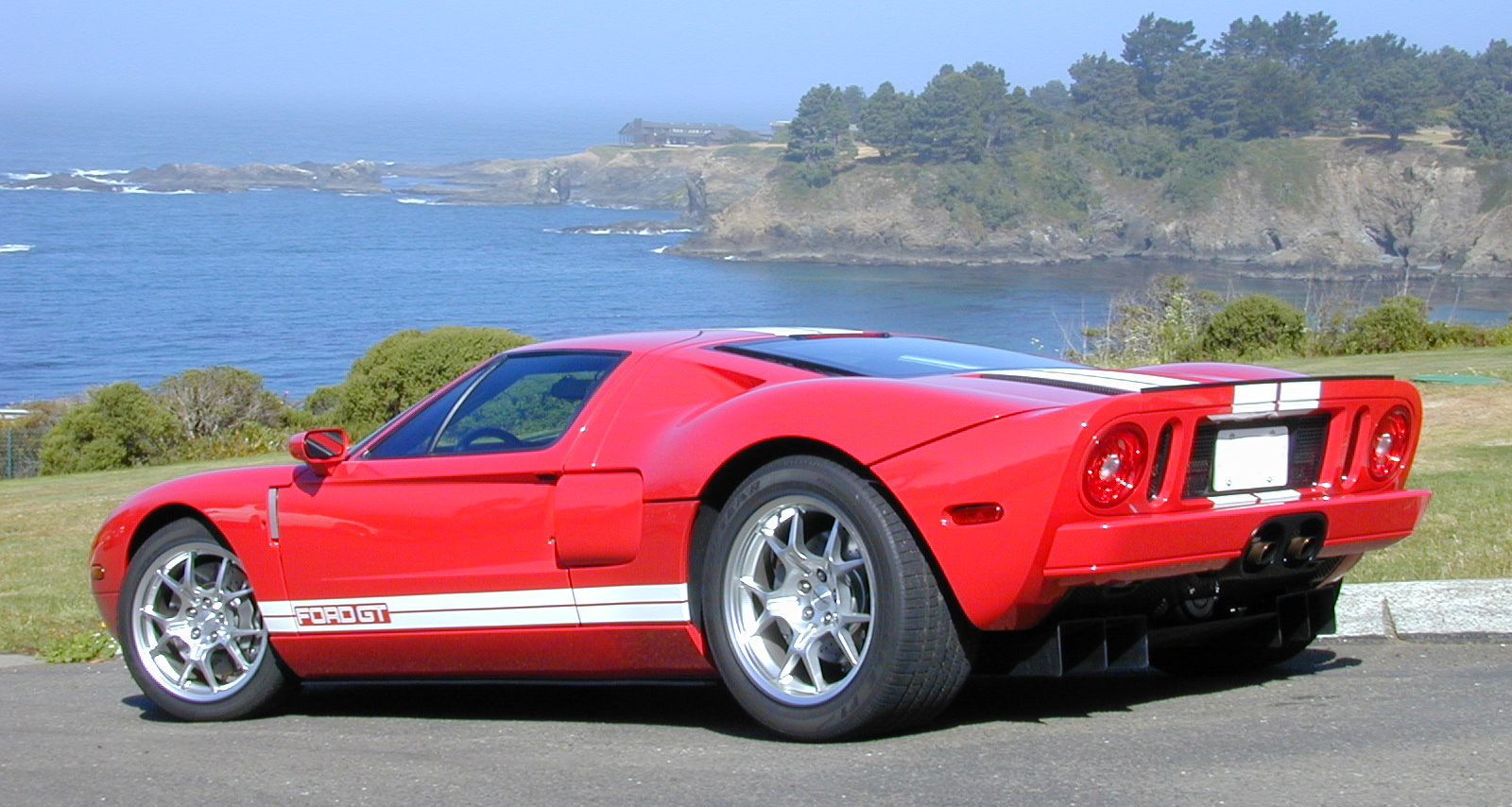 2005 Ford GT Rear Red