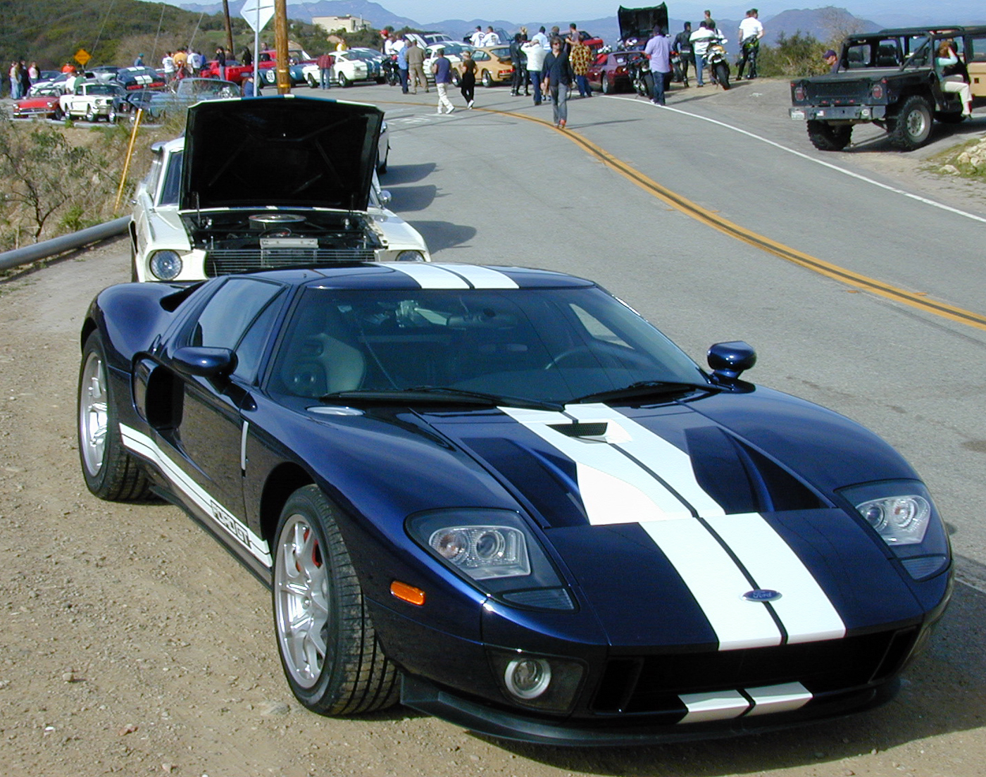 2005 Ford GT SAAC Rally Cars