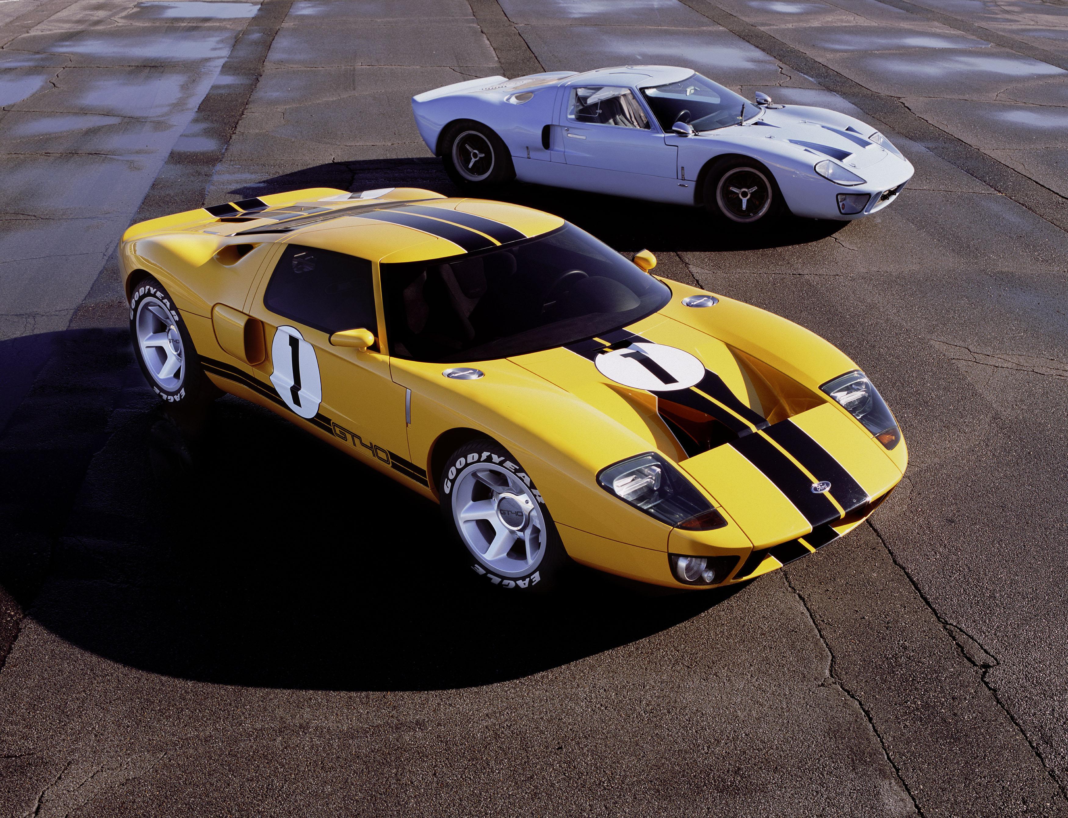 Ford GT40 Concept & original GT40
