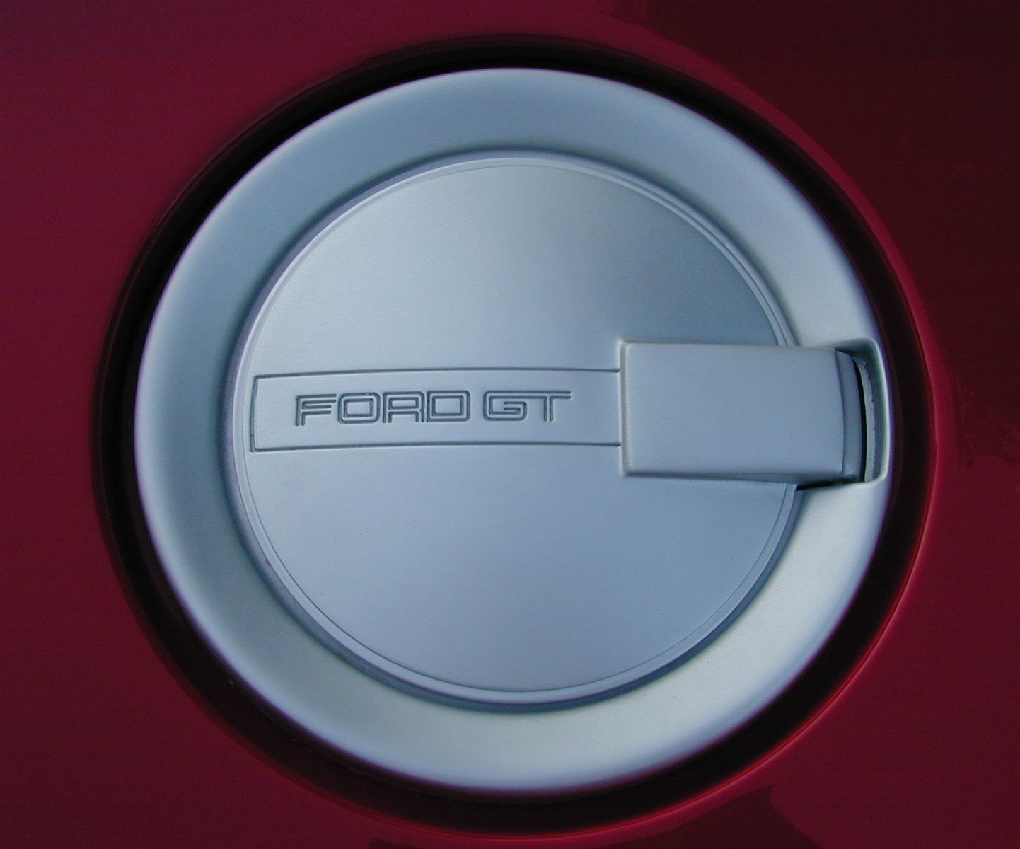 Prototype Ford GT Fuel Cap