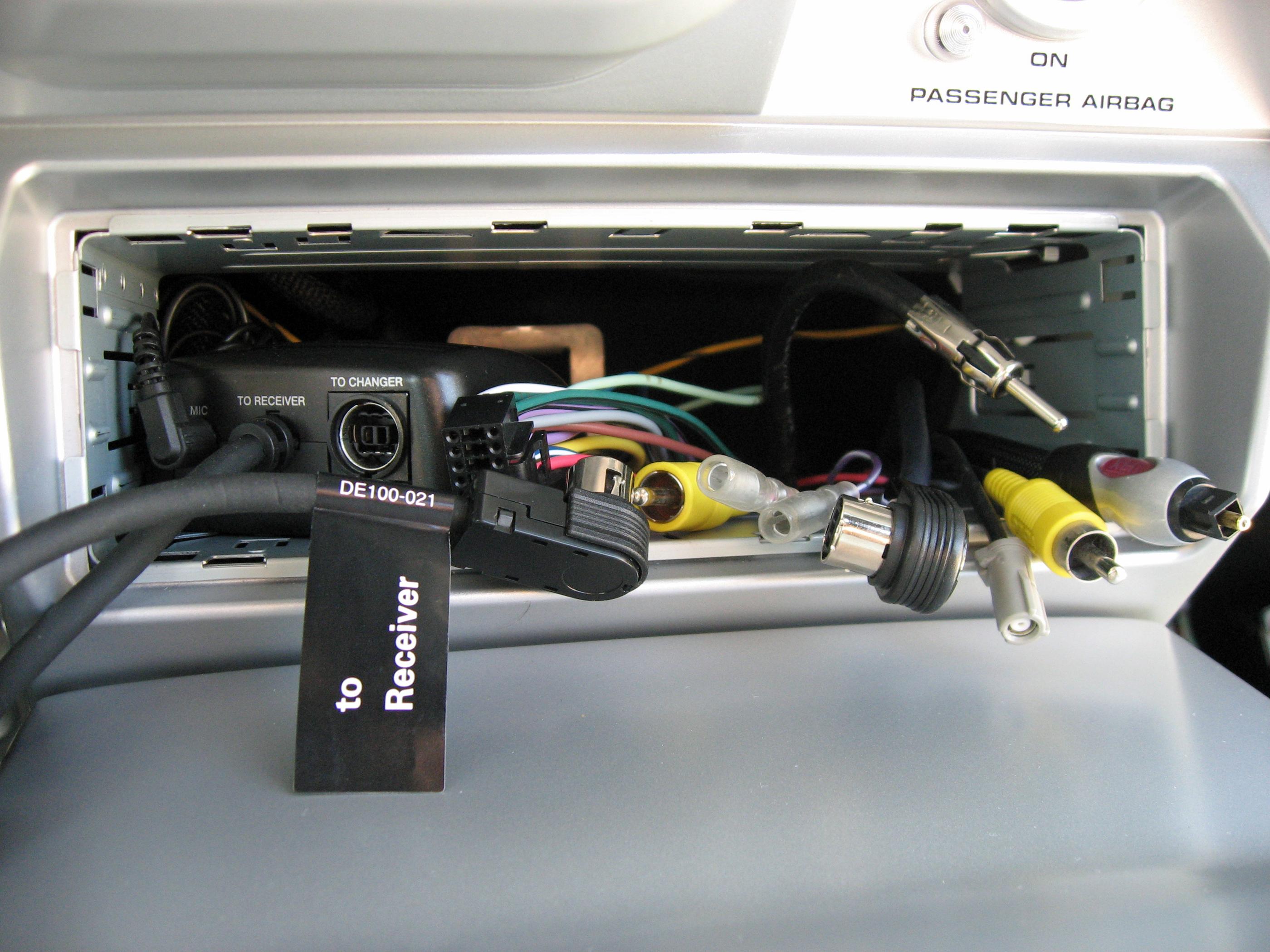 2005 Ford GT Lon gTerm Audio Head Unit Connections