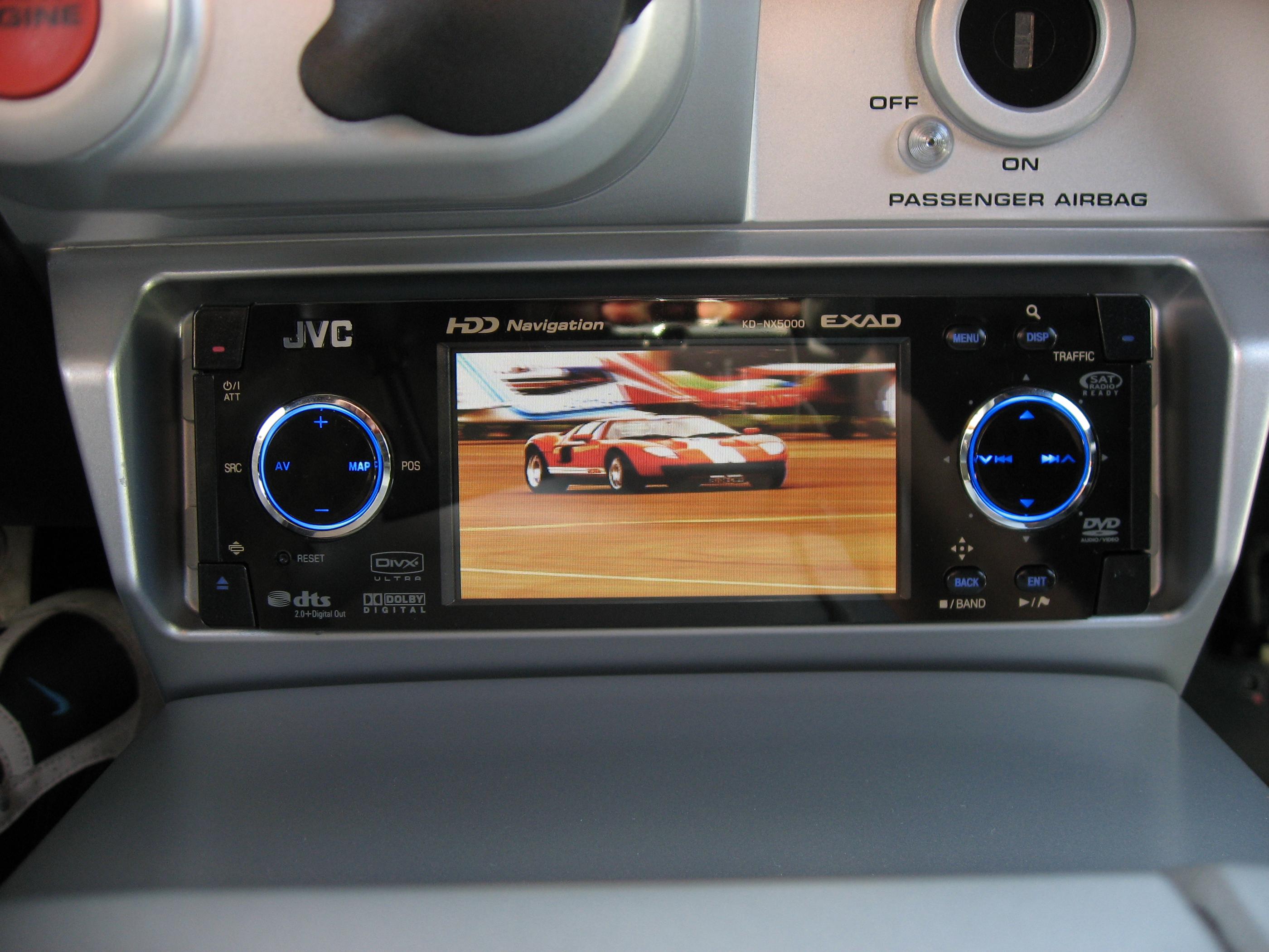 2005 Ford GT Long Term Audio Head Unit
