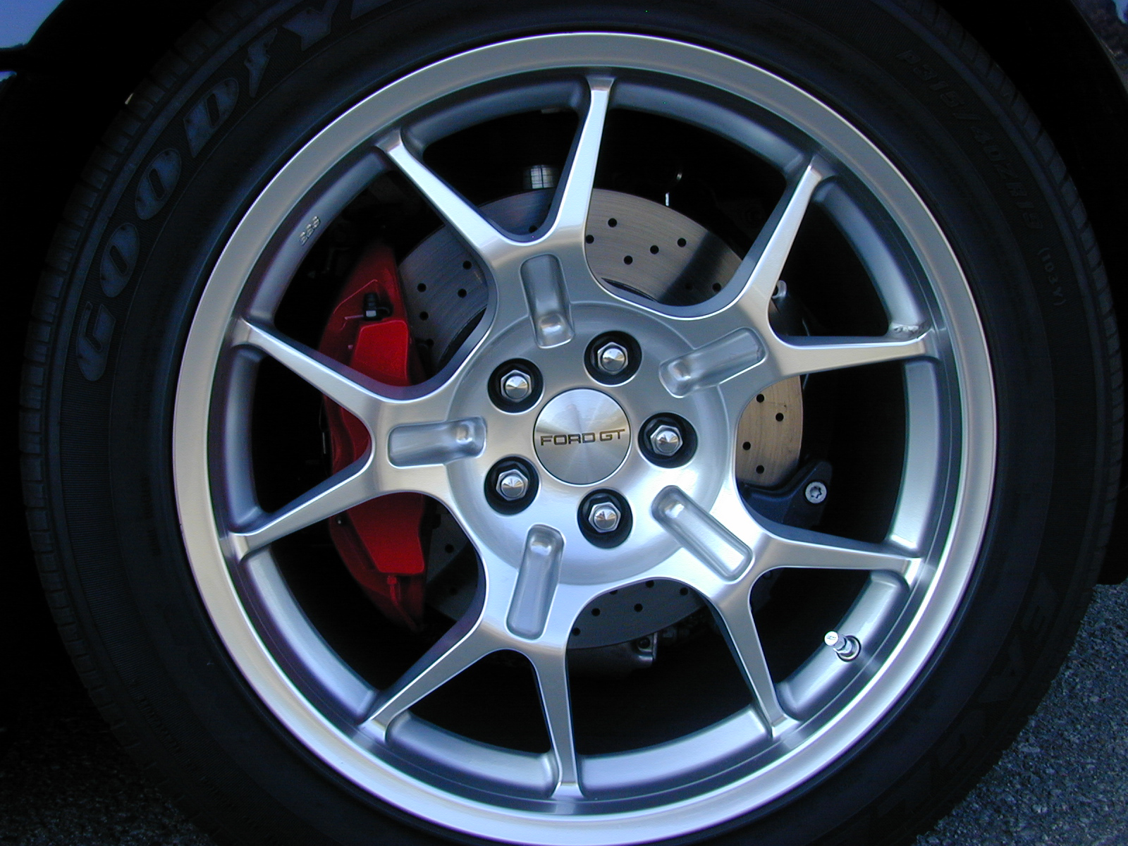 2005 Ford GT Long Term BBS Wheel