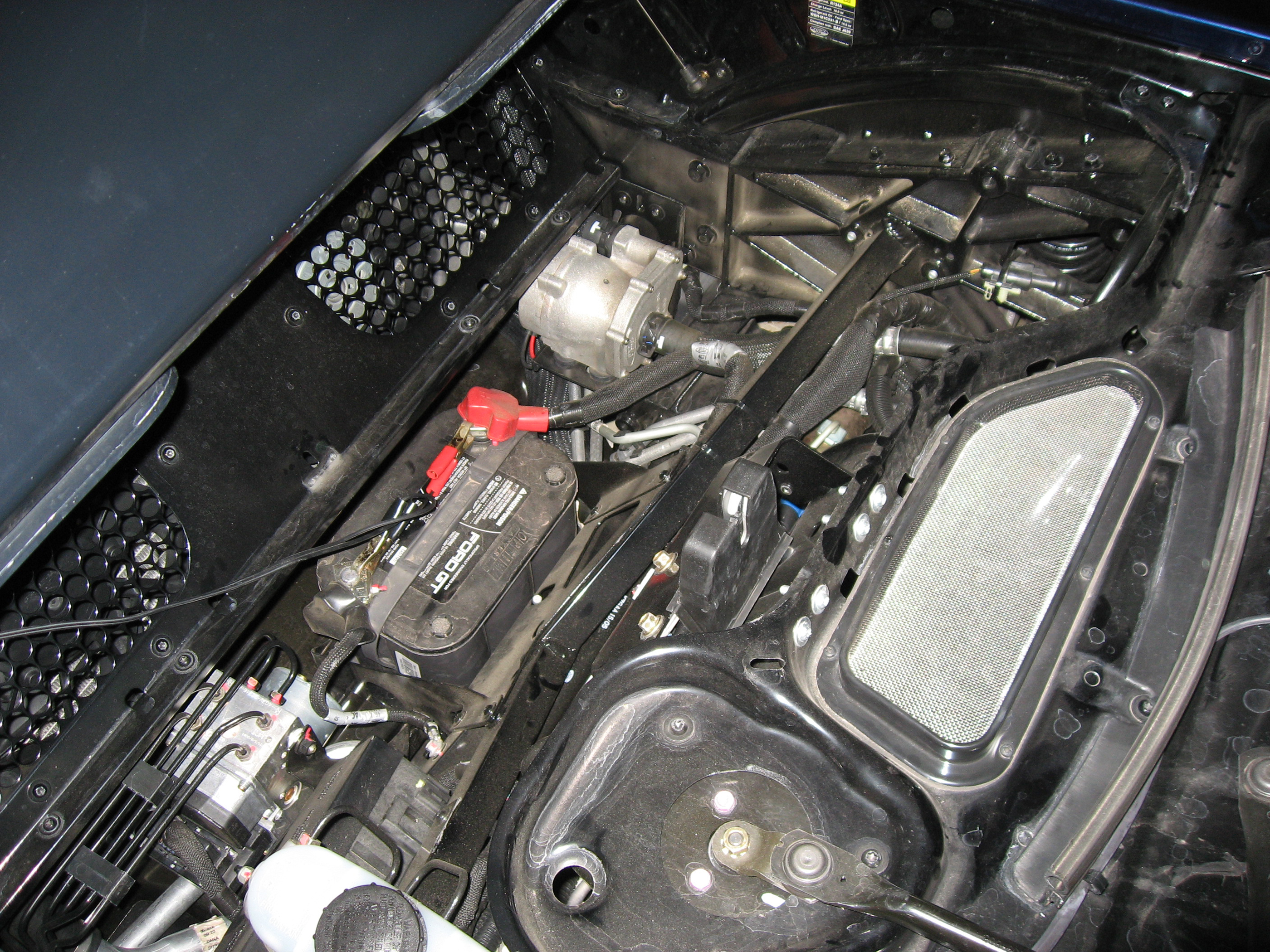 2005 Ford GT Long GT Battery