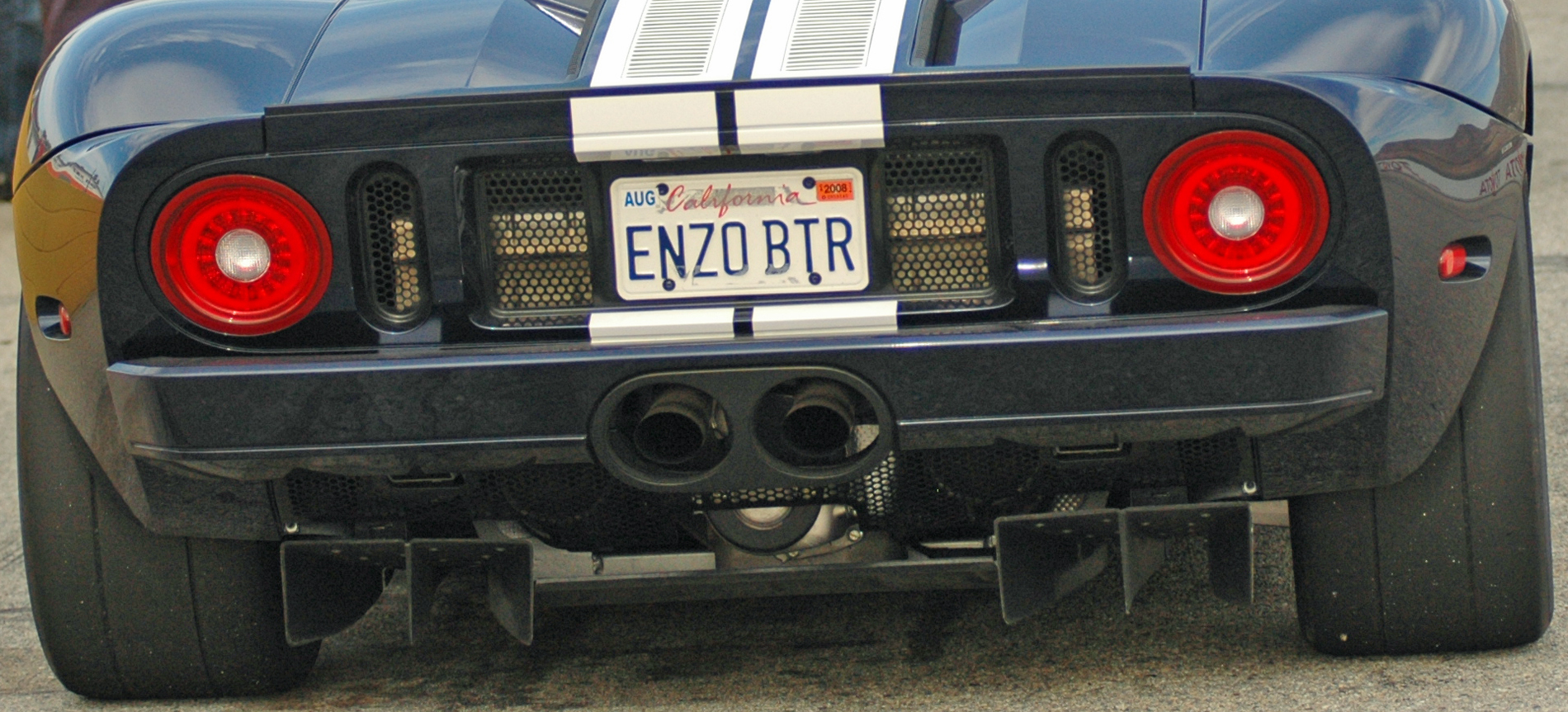 2005 Ford GT Long Term Diffuser