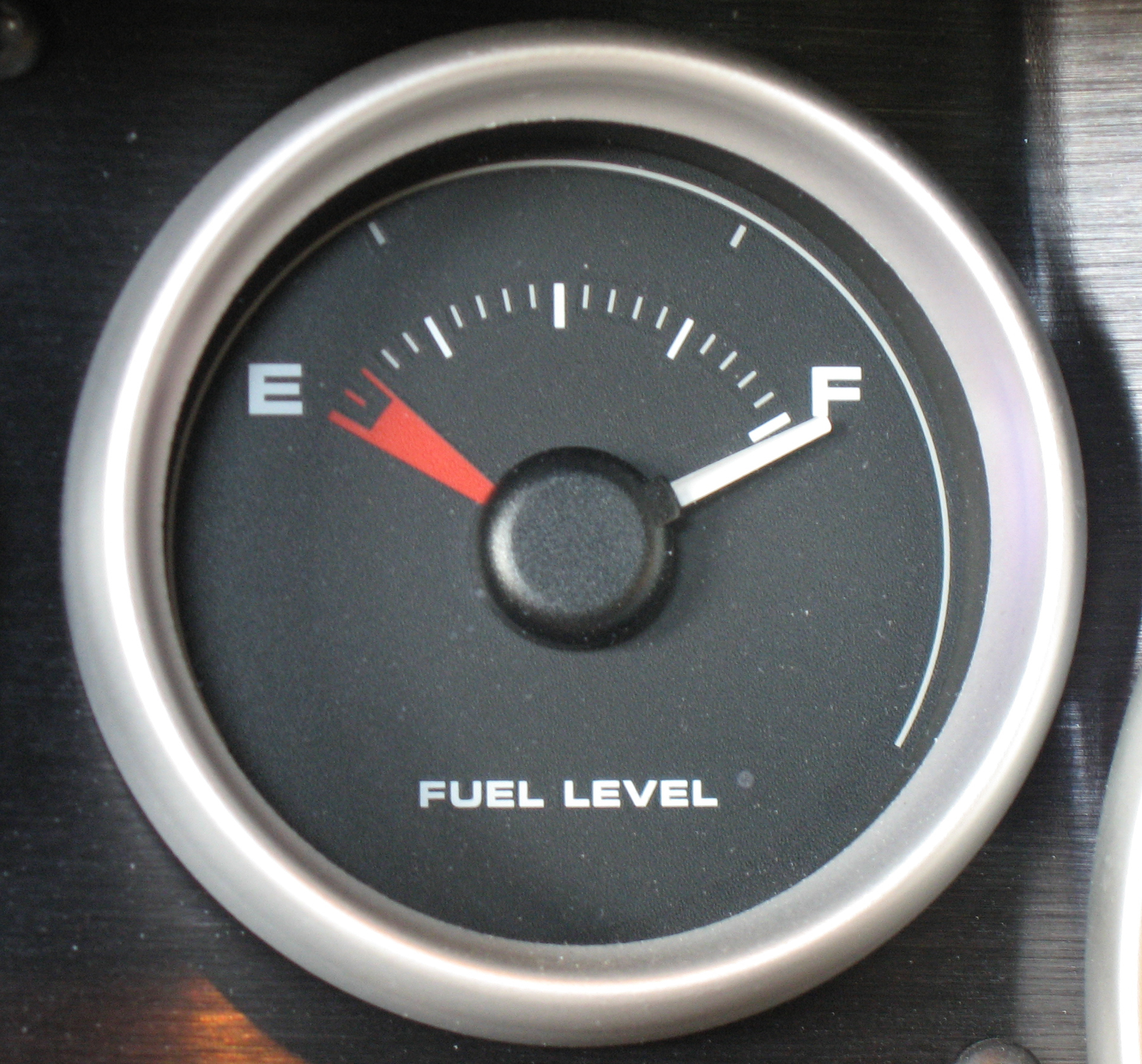 2005 Ford GT Long Term Fuel Gauge