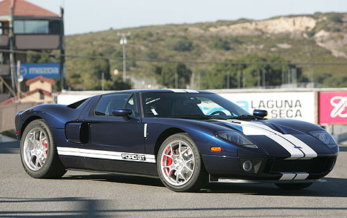 2005 Ford GT Long Term Laguna Seca
