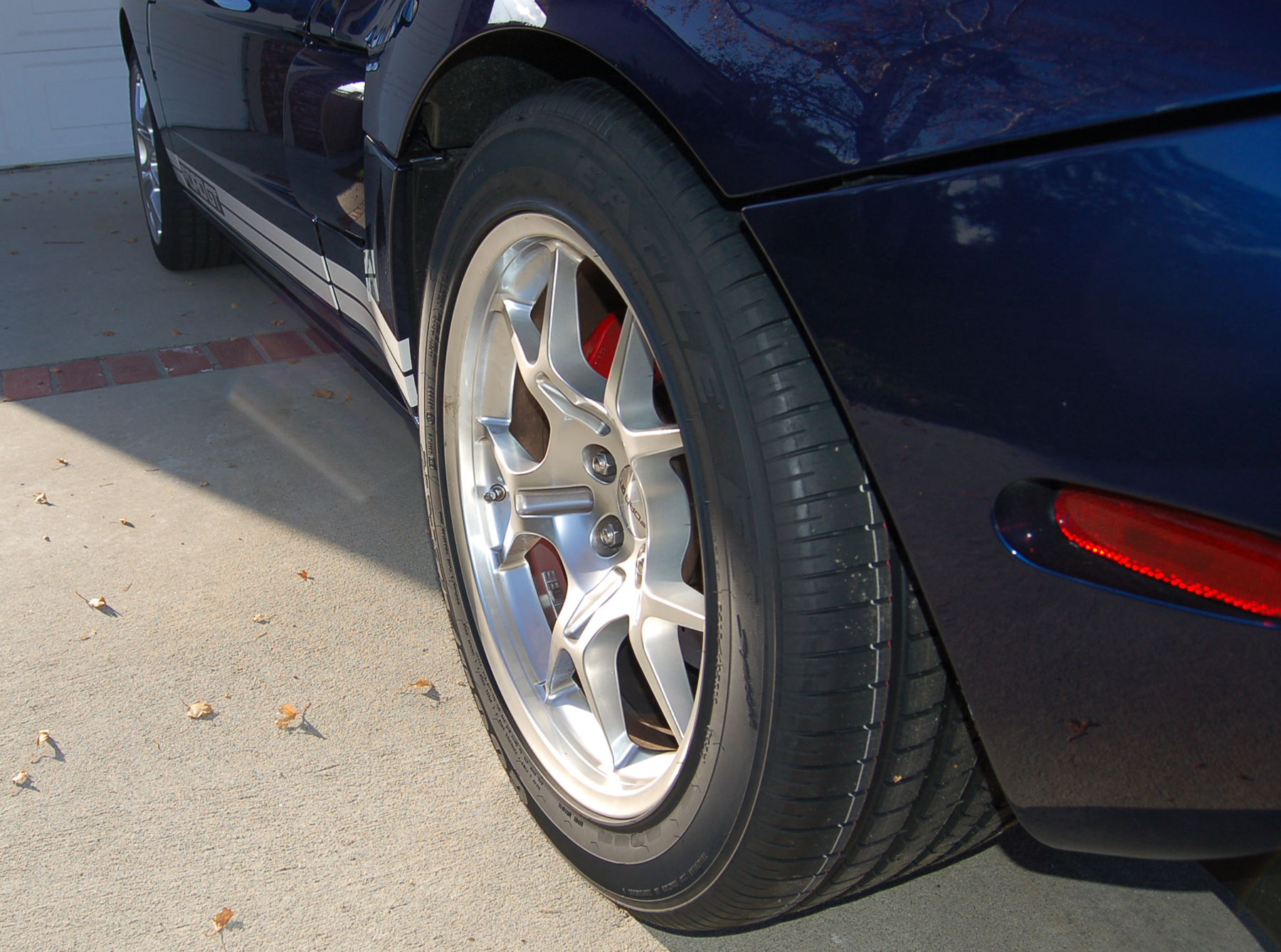 2005 Ford GT Long Term New Tire