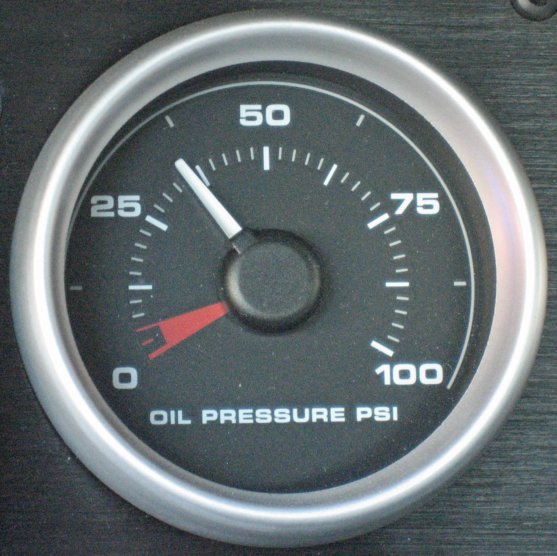 2005 Ford GT Long Term Oil Pressure Gauge