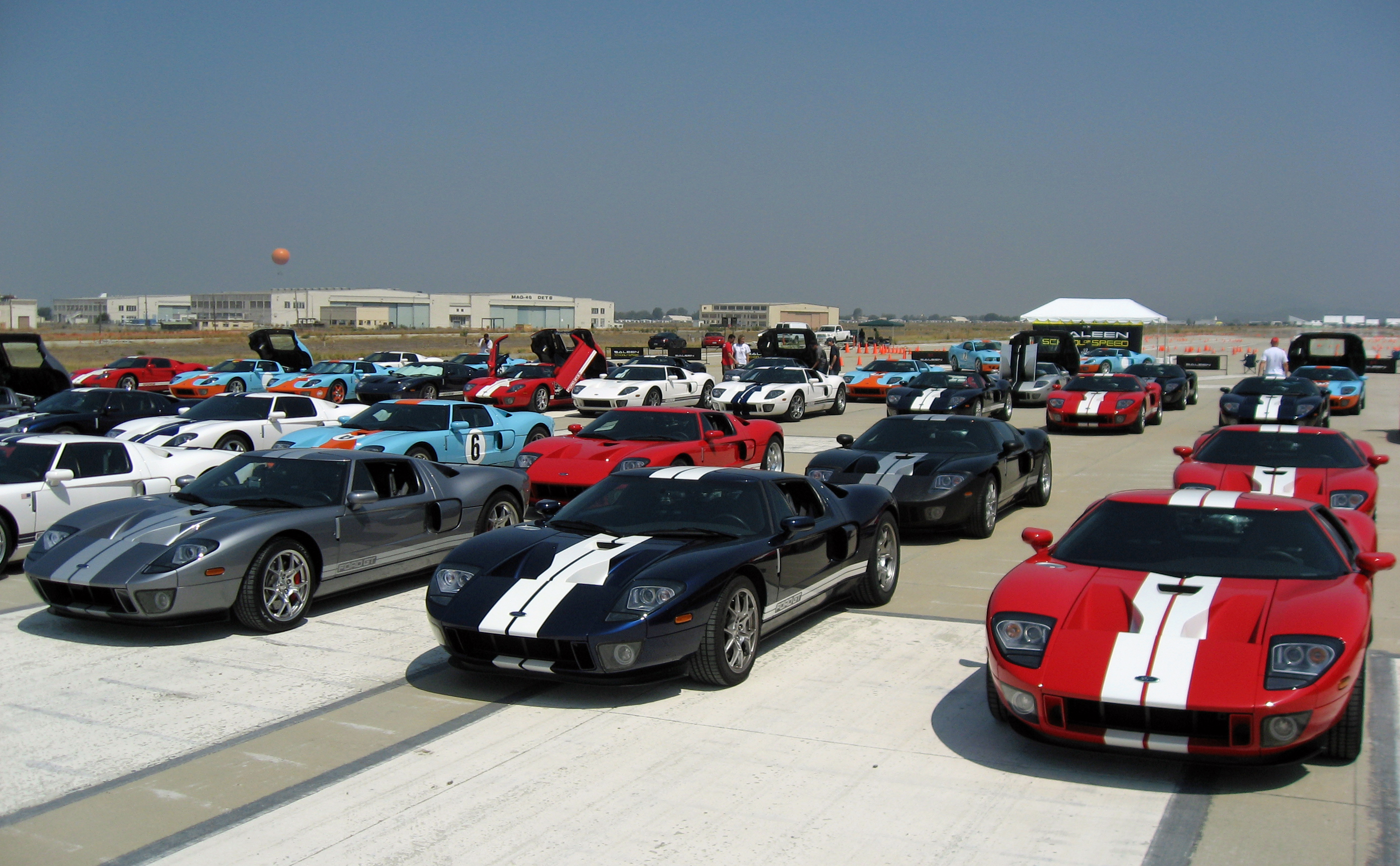 2005 Ford GT Long Term Owners Rally El Toro