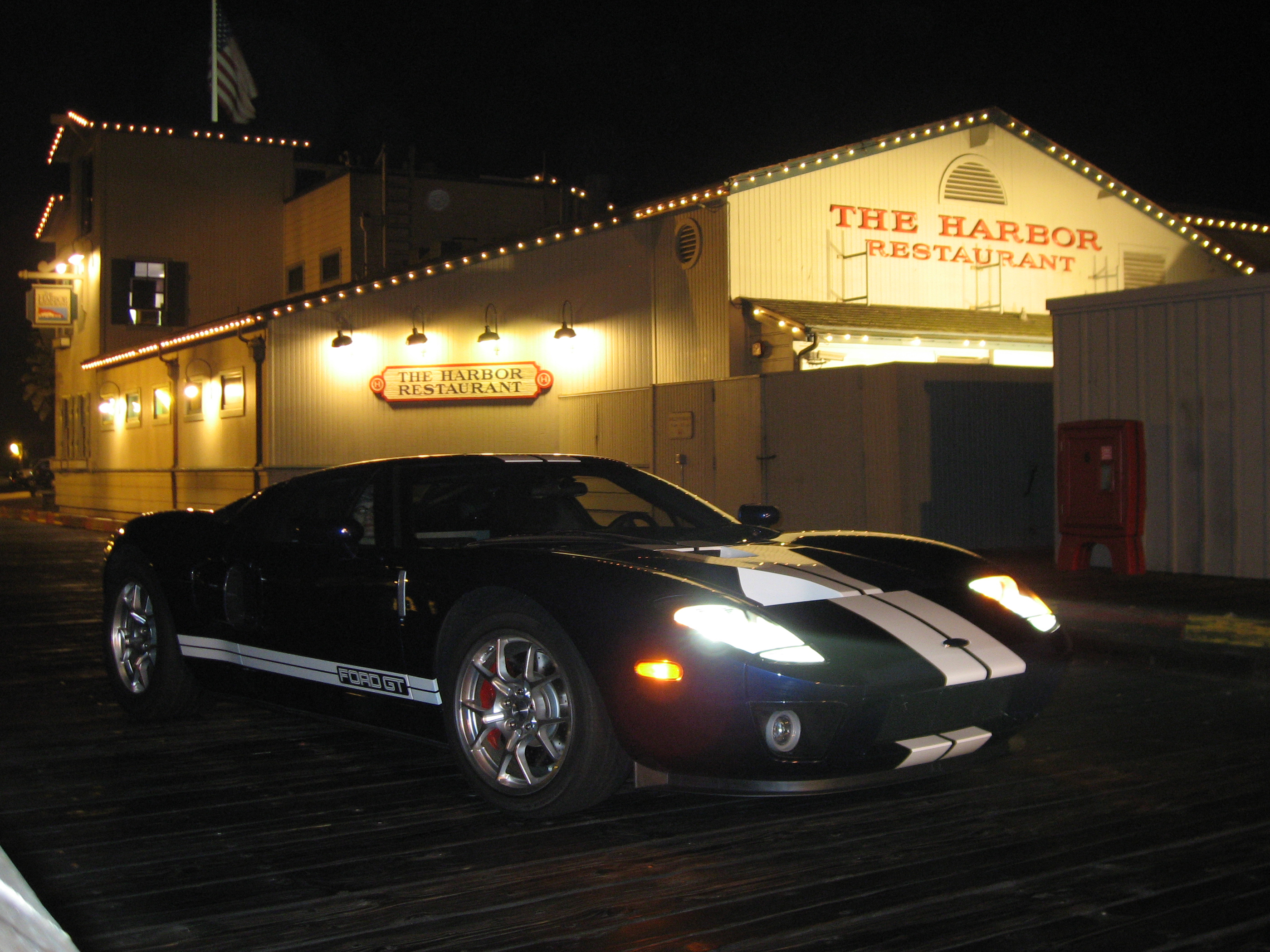 2005 Ford GT Long Term Pier