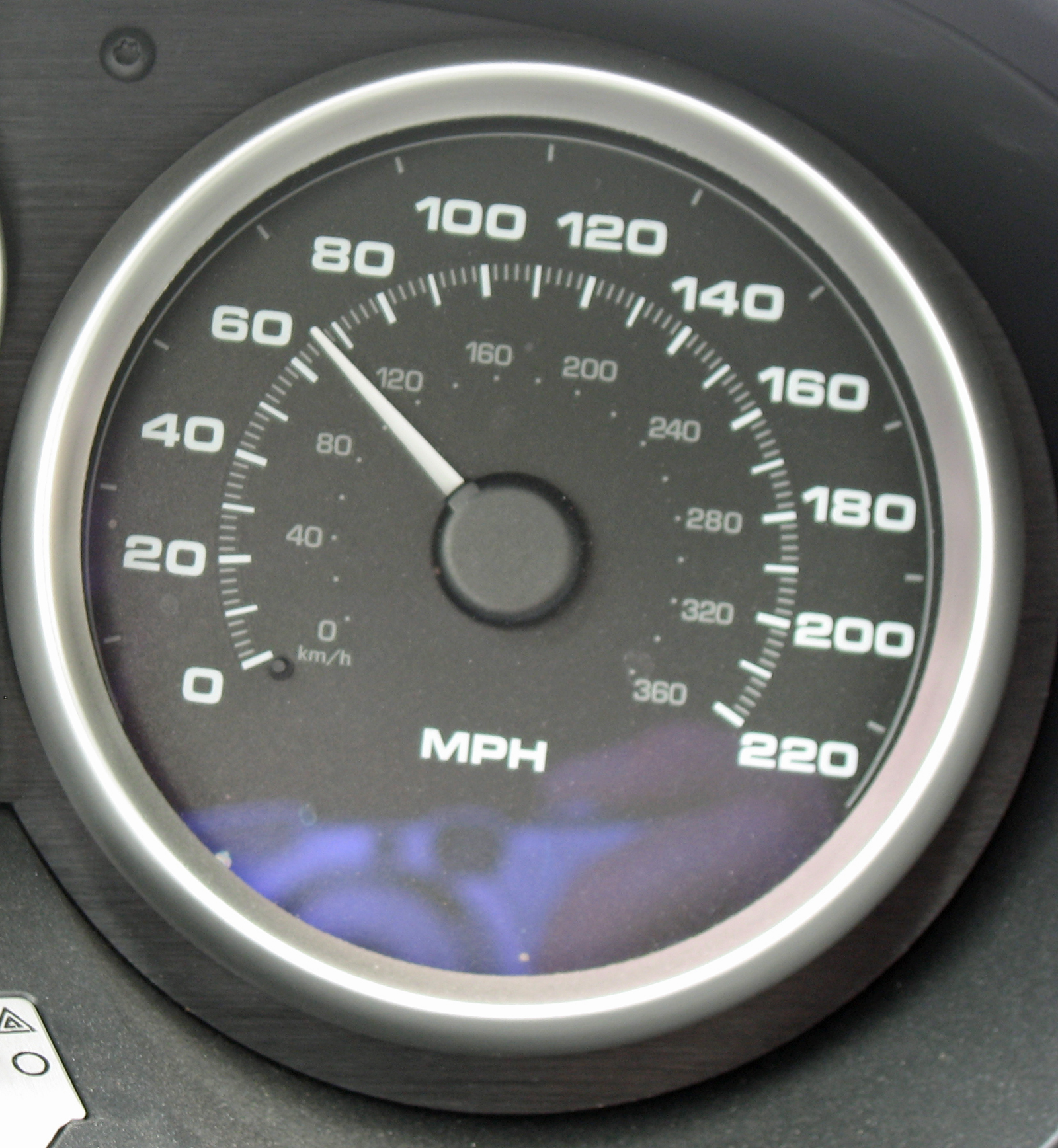 2005 Ford GT Long Term Speedometer