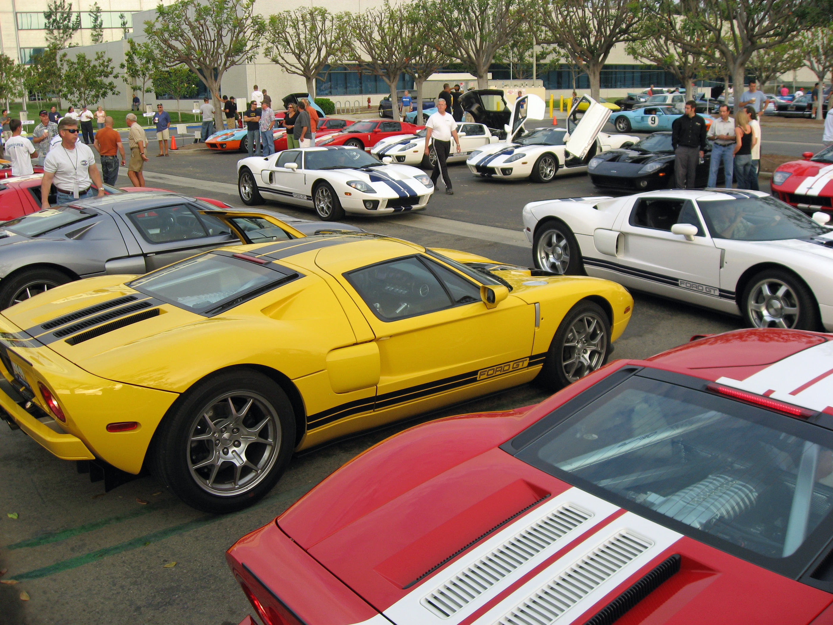 2005 Ford GT Owners Rally Cars Coffee