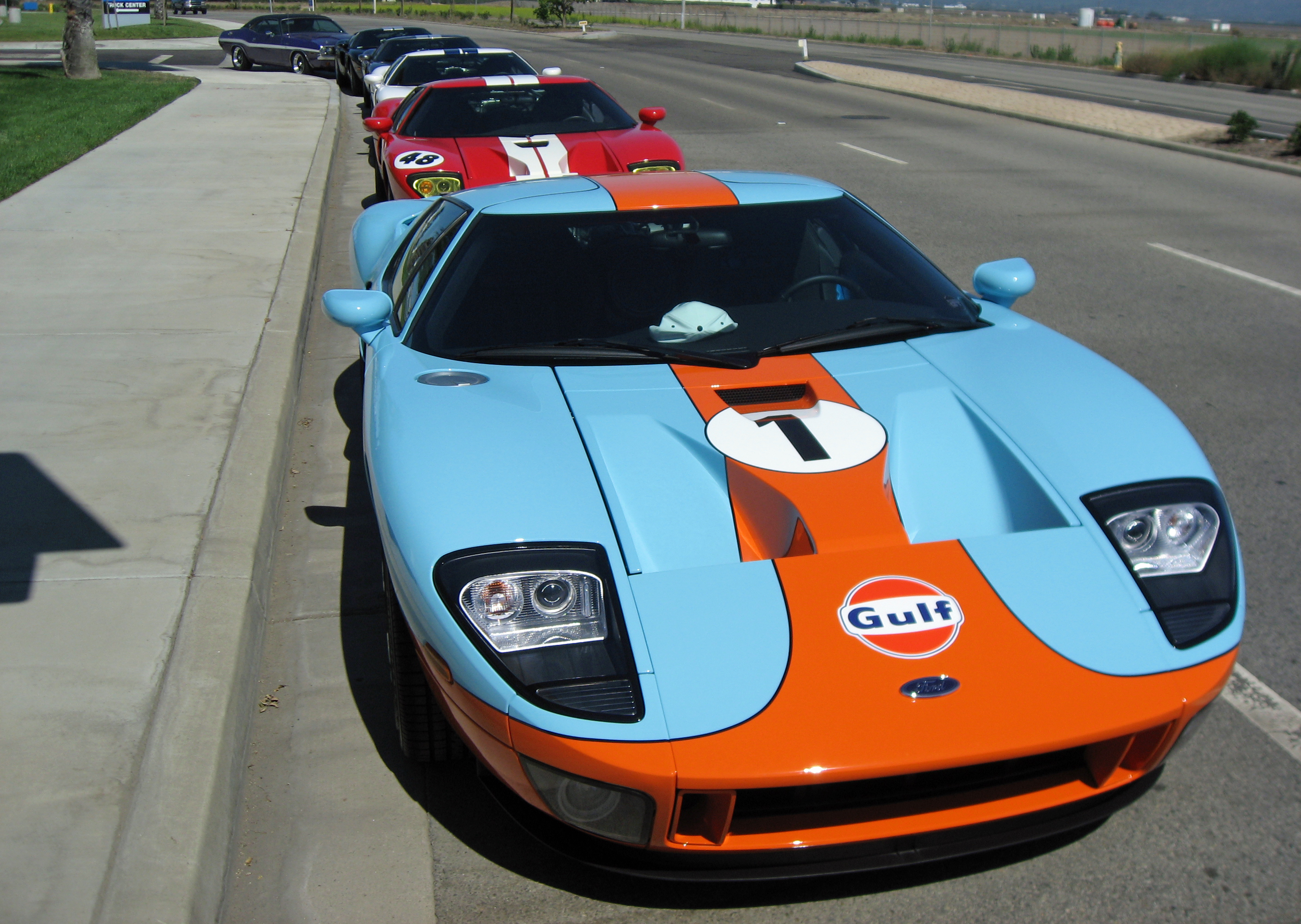 2005 Ford GT SoCal Owners Rally