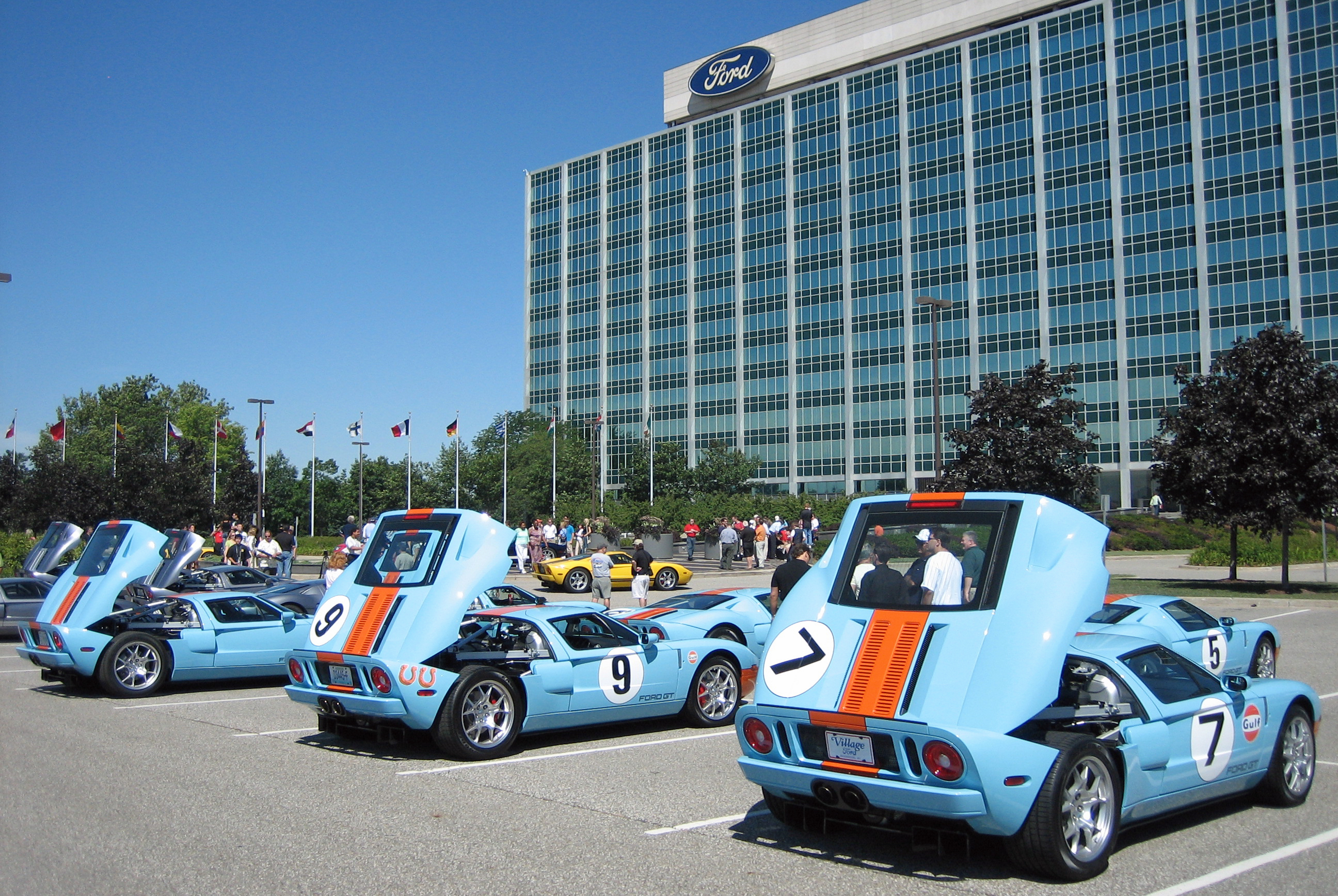 Ford GT Owners Rally Ford Headquarters