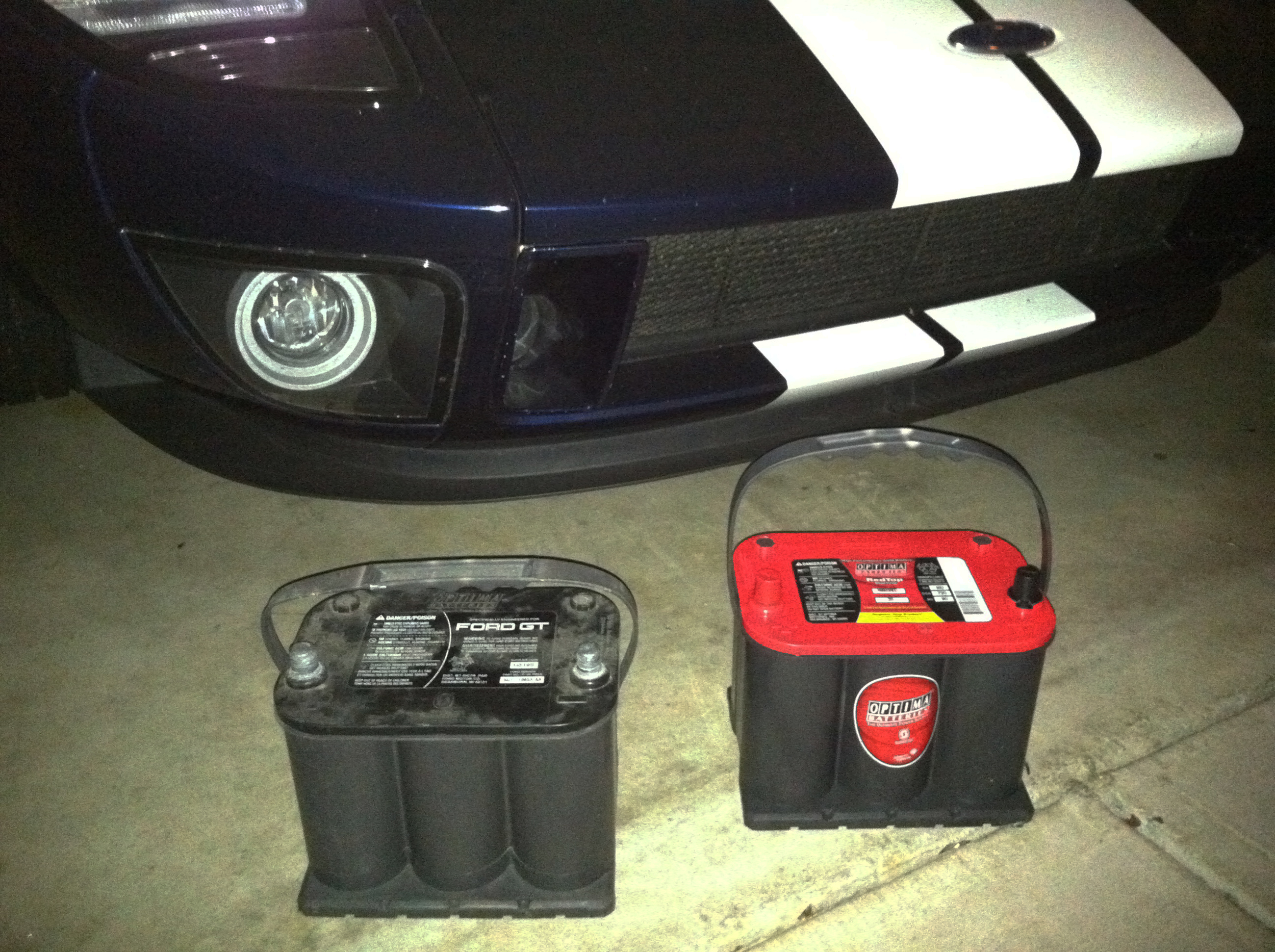 2005 Ford GT Long Term Battery Replacement