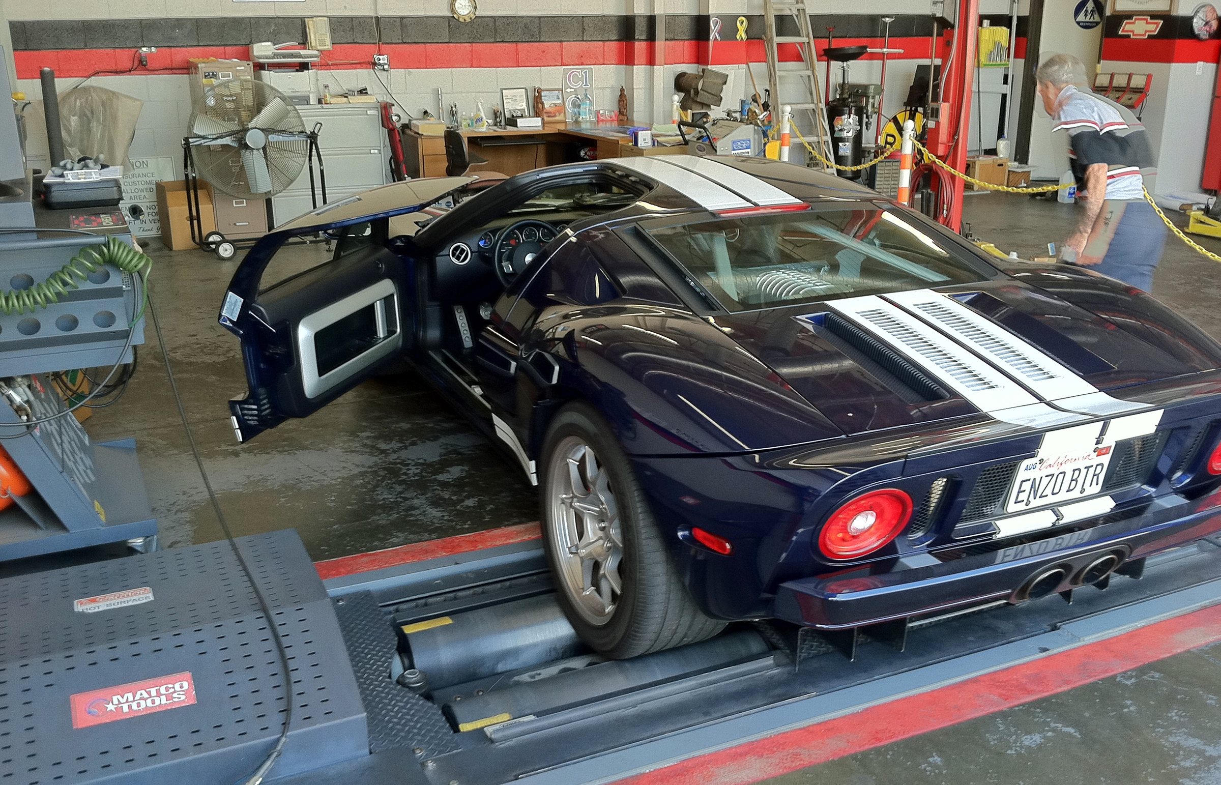 2005 Ford GT Long Term Emissions Test