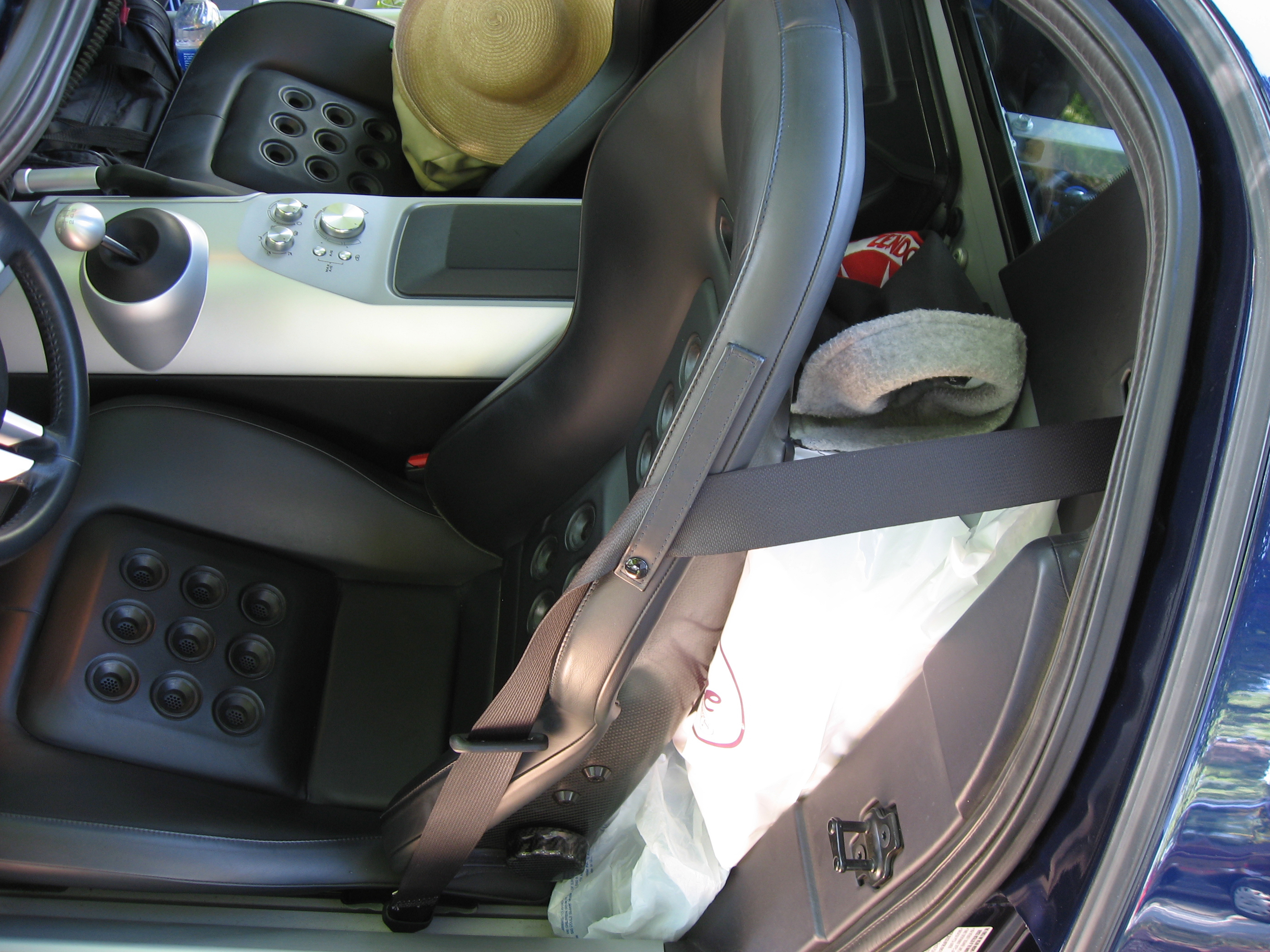 2005 Ford GT Long Term Reunion Behind Seat Storage