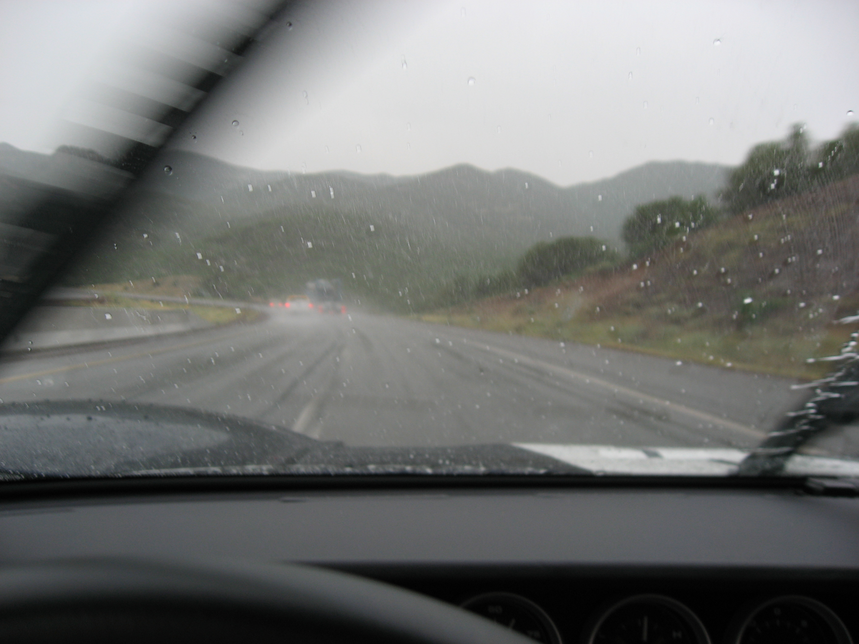 2005 Ford GT Long Term Reunion Rain