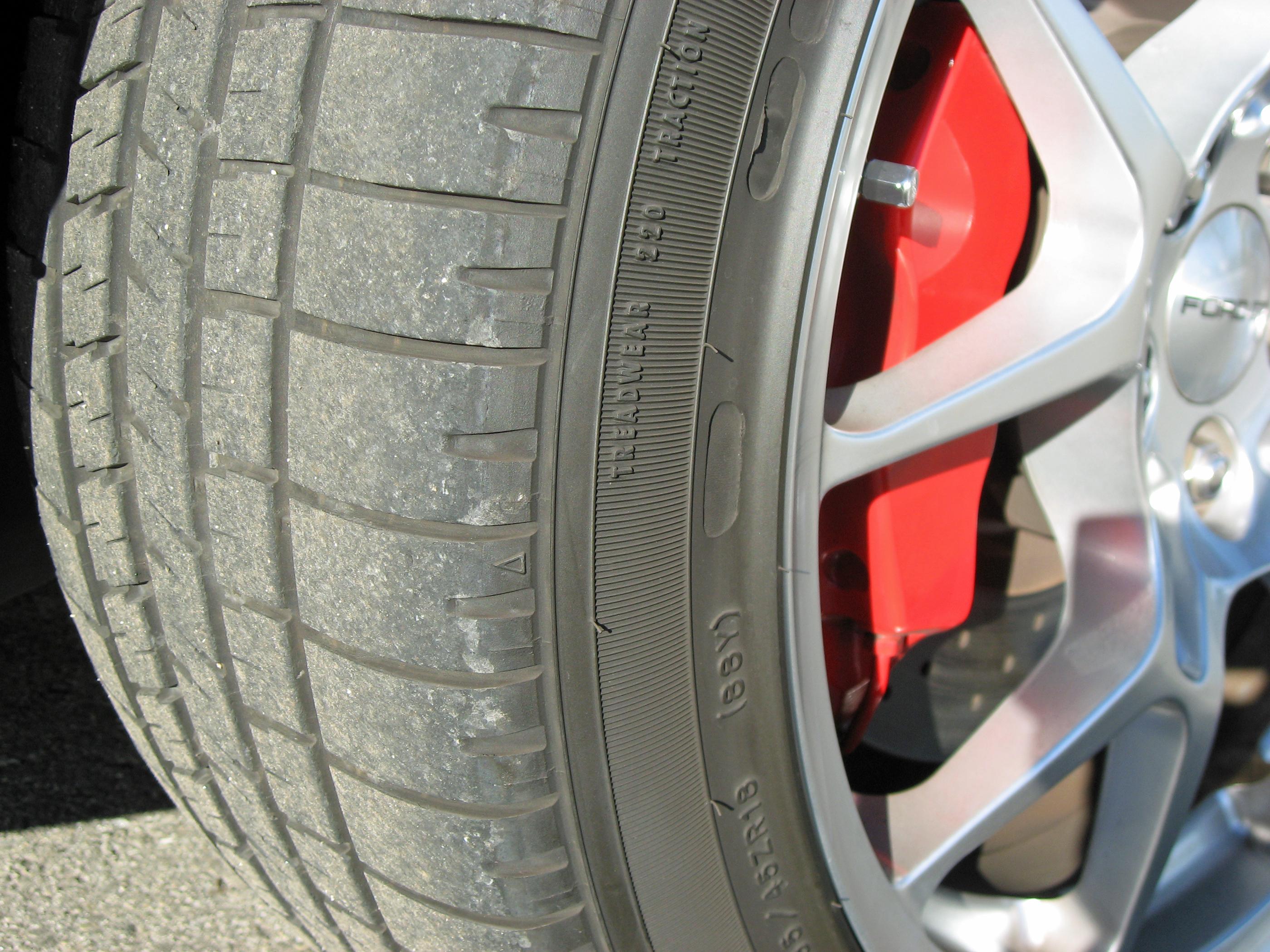 2005 Ford GT Long Term Tire Wear
