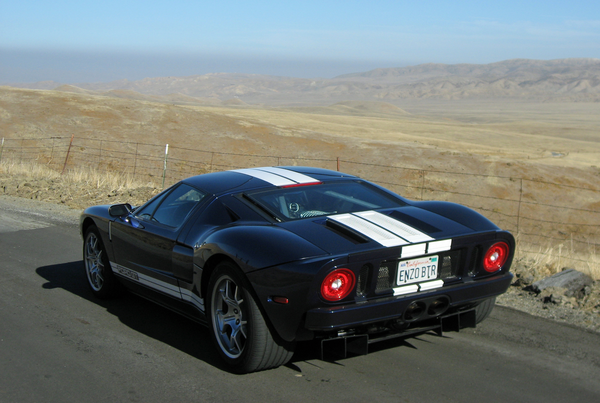 2005 Ford GT Long Term Wrap Up Rear