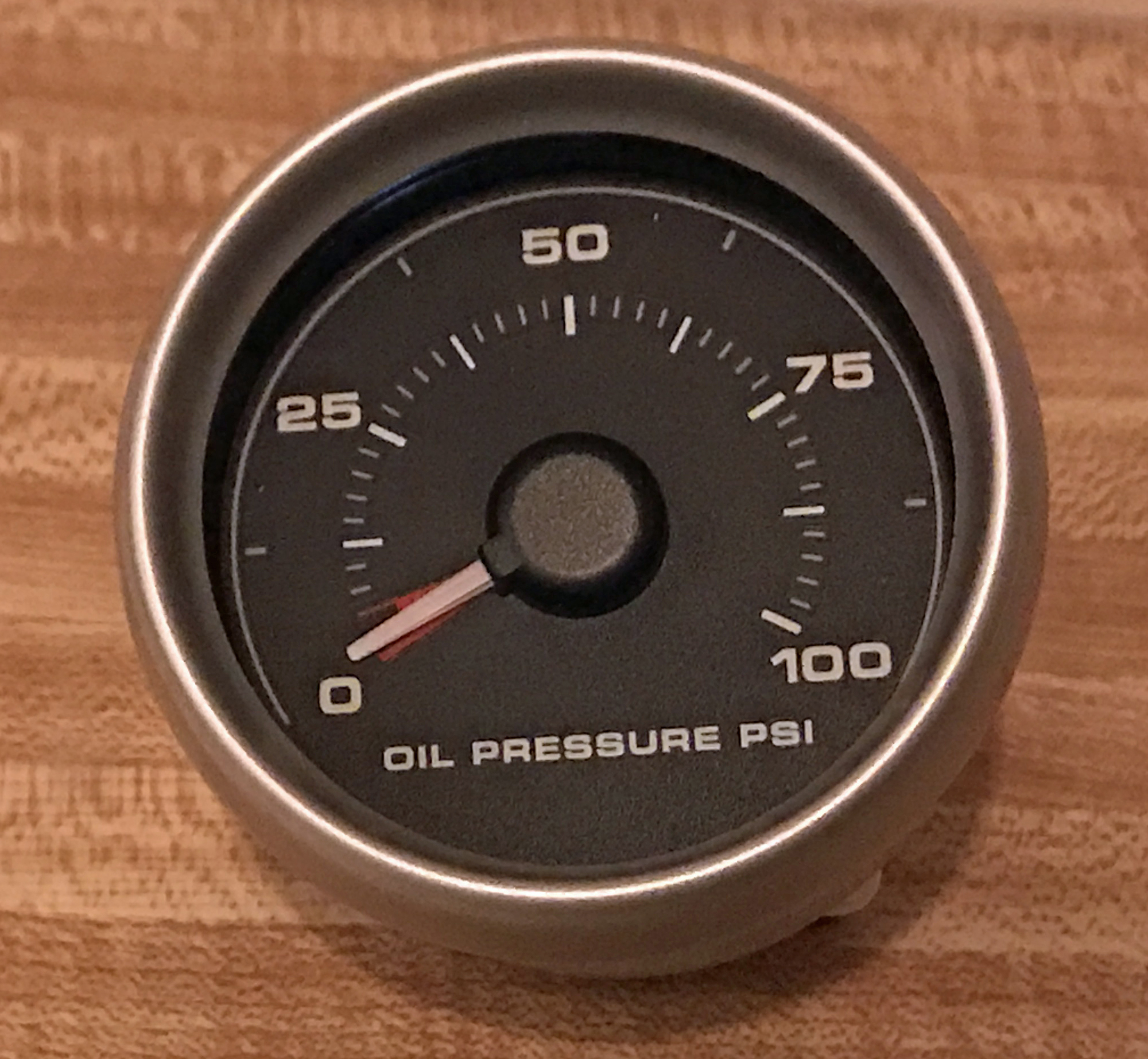 2005 Ford GT Oil Pressure Gauge