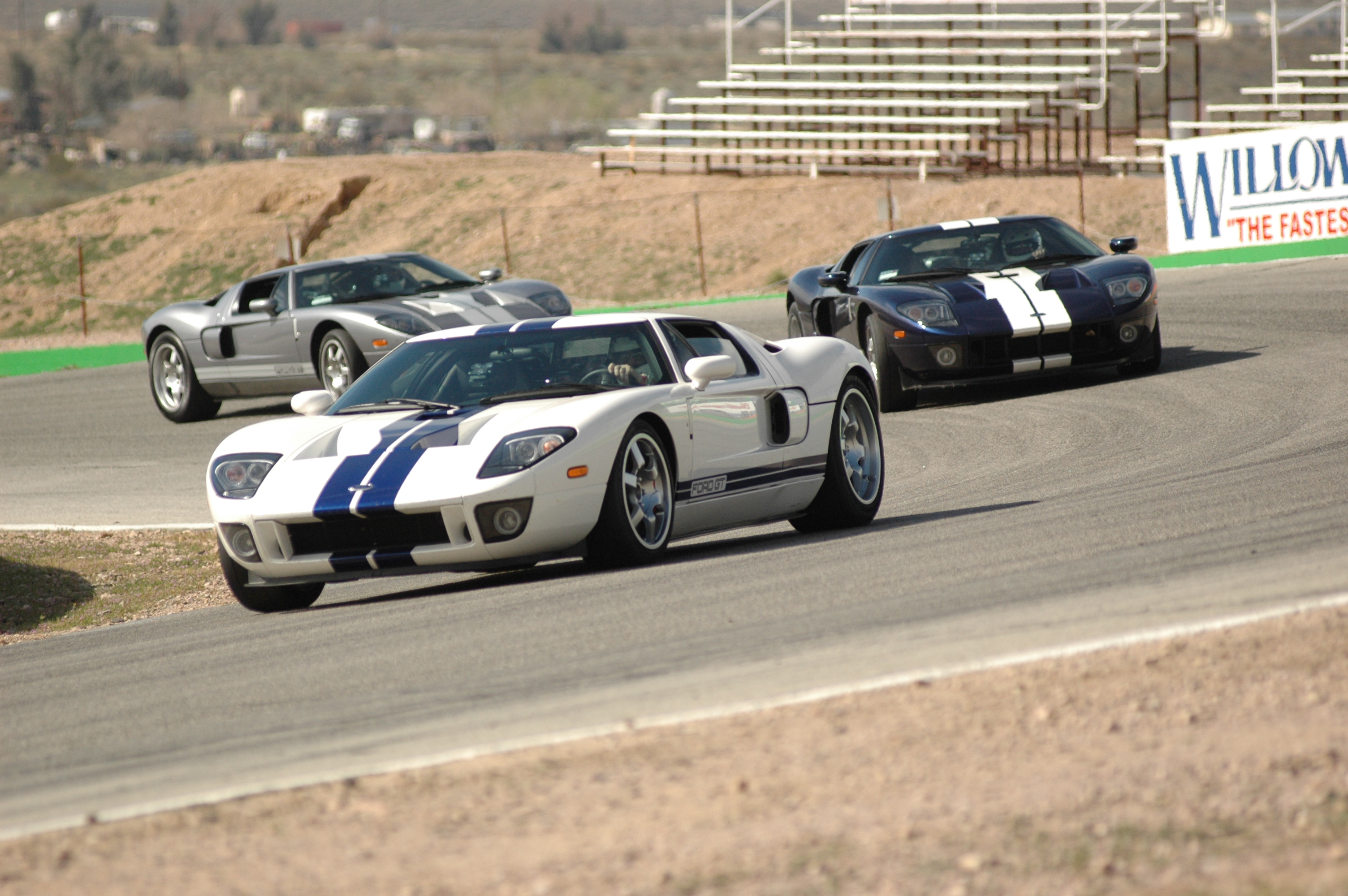 Ford GT School Willow Springs Turn 4