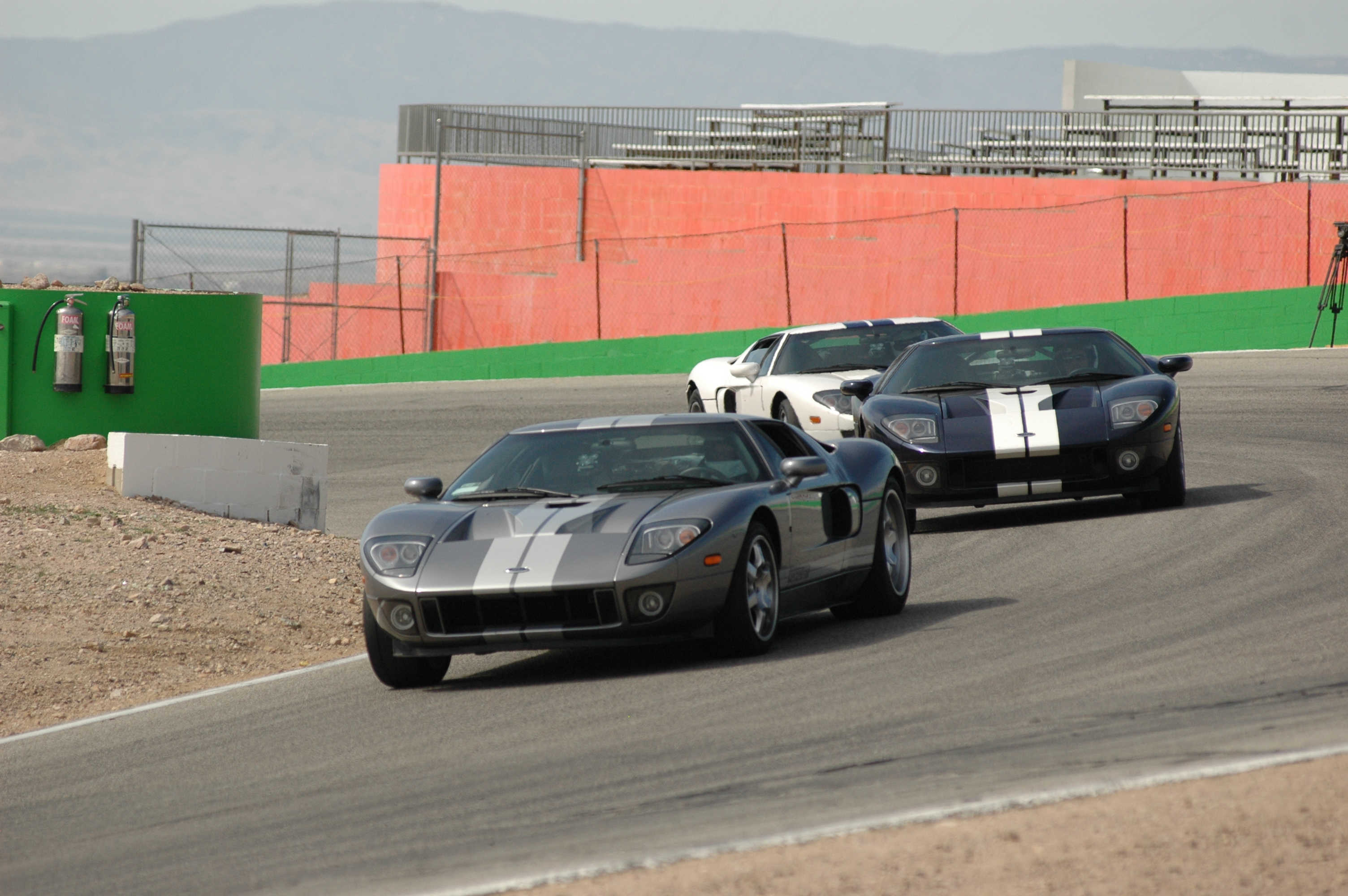 Ford GT School Willow Springs Turn 5