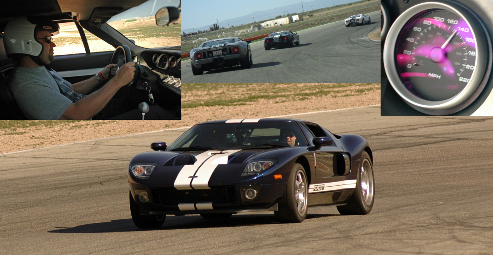 2005 Ford GT Willow Springs