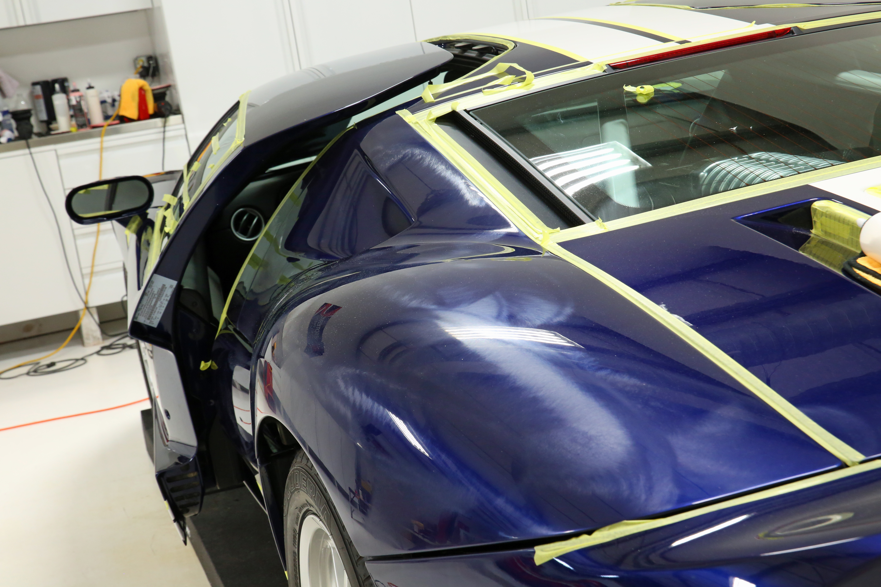 2005 Ford GT Paint Correction Process