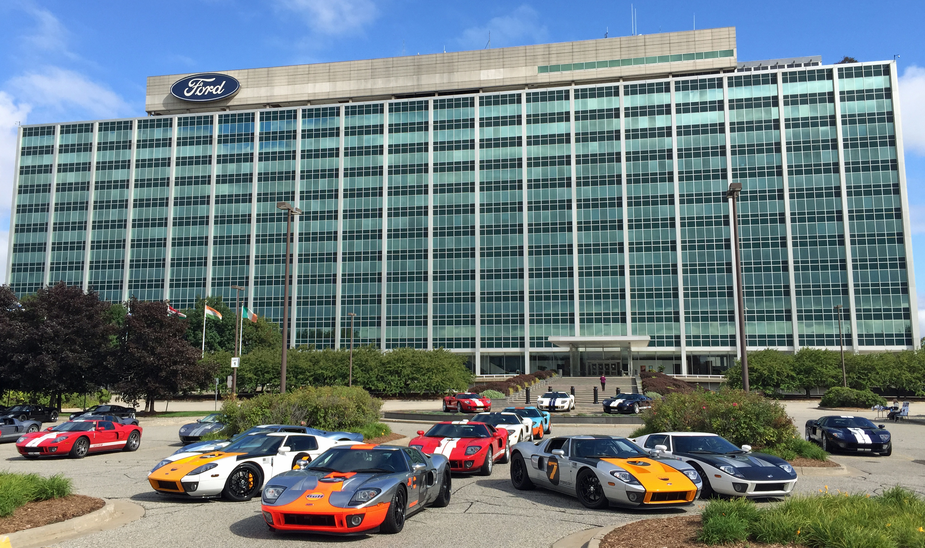 Ford GT Owners Rally 10 Ford World Headquarters