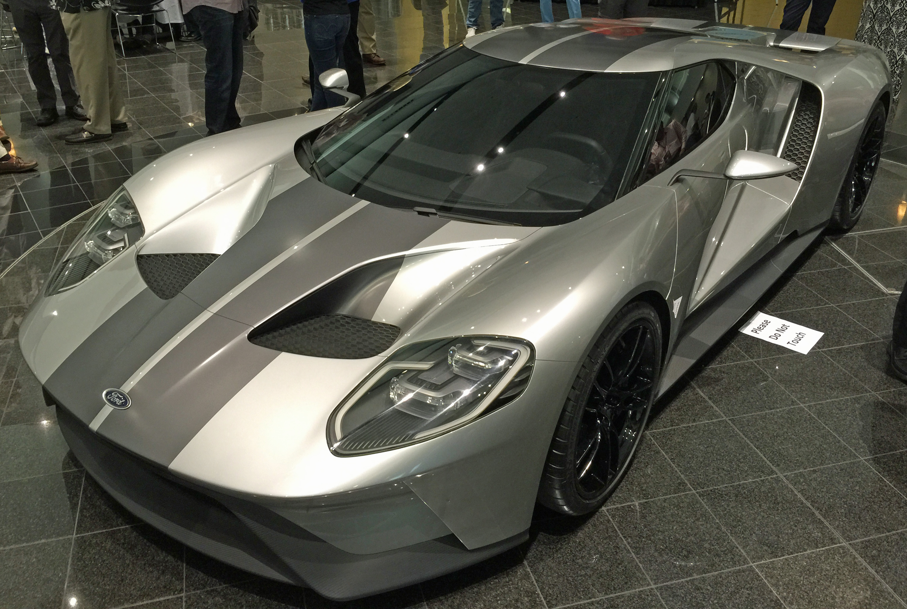 Ford GT Owners Rally 10 New Ford GT Silver