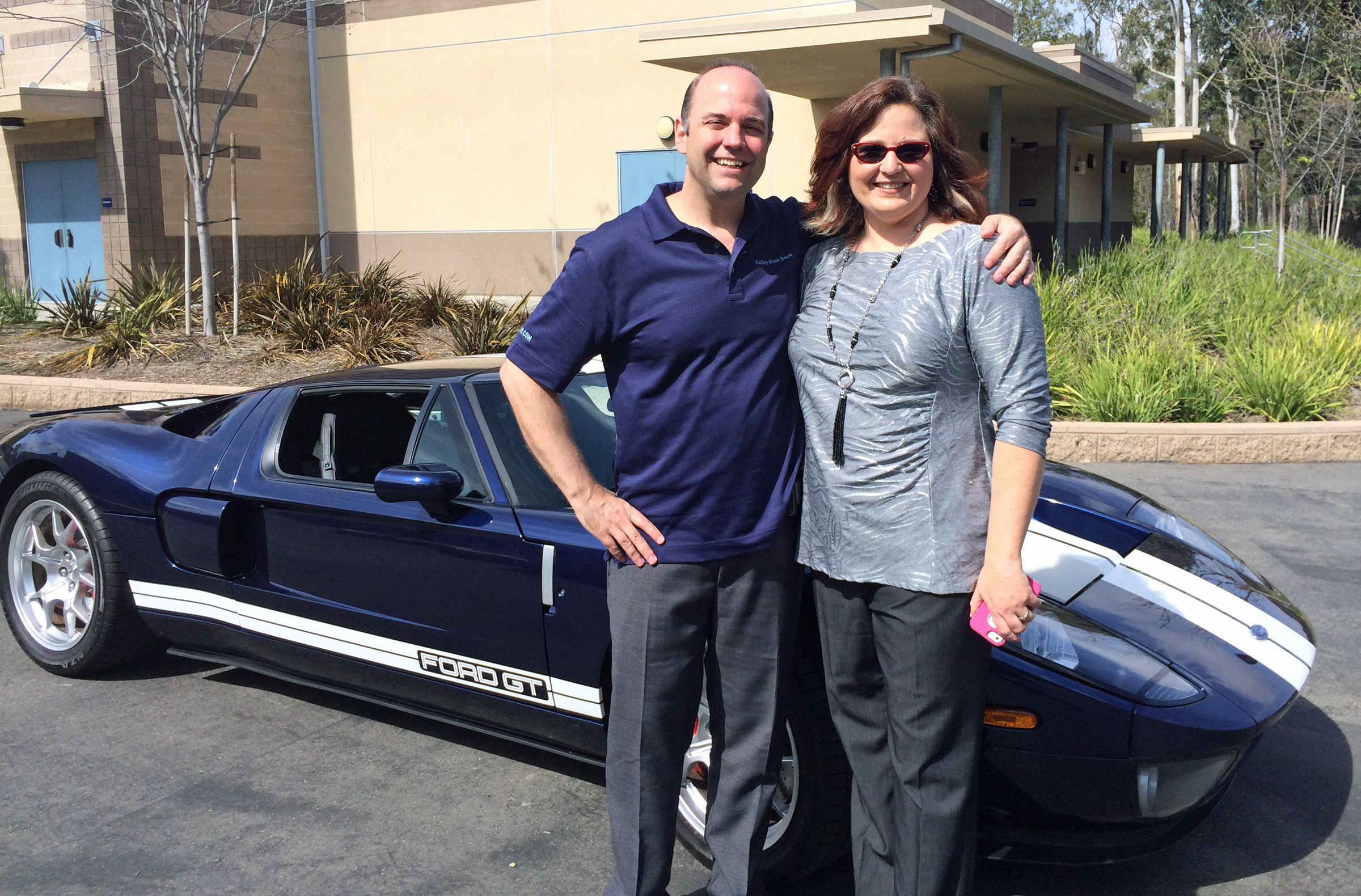 Ford GT Phil Remington Daughter